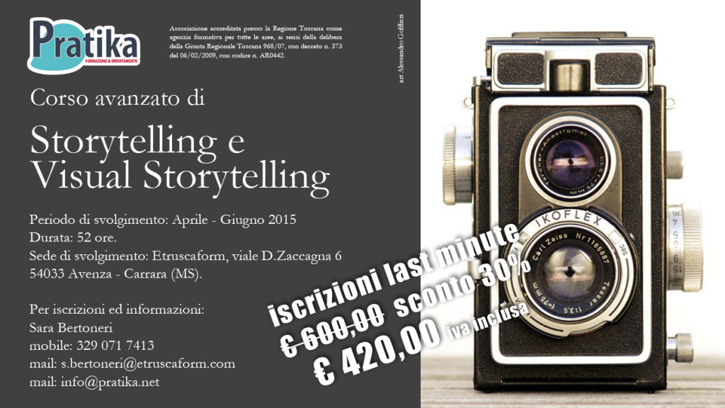 Storytelling e Visual Storytelling