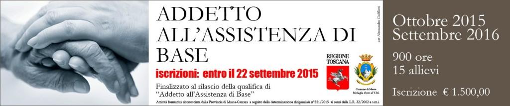 """Corso di Qualifica riconosciuto dalla Regione Toscana """"Addetto all'Assistenza di Base"""""""