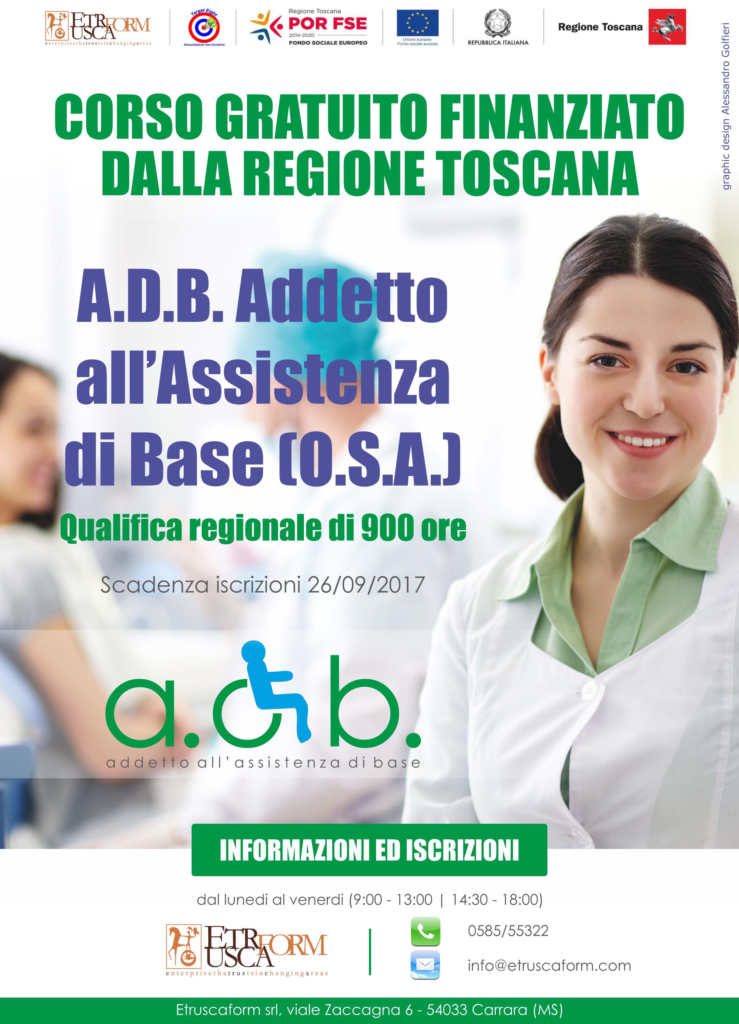 A.D.B. Addetto all'assistenza di base (O.S.A.)
